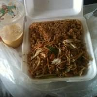Lo Mein and fried rice