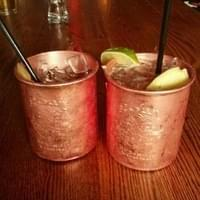 Moscow mule's at City o city..celebrating Meghan's…
