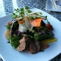 Braised duck salad
