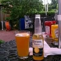 Beer is cold...so is the waitress....