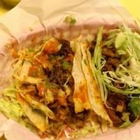 You can only see the carnitas (left) and asada…