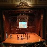 Just saw an amazing concert here (Newberry…