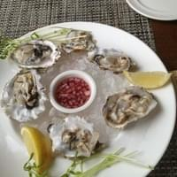 Plump west coast oysters