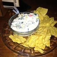 Spinach Artichoke Dip with Crab