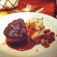 The filet is better here than most steakhouses…