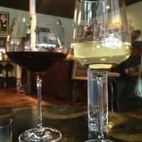 Huge wine glasses that aren't cheap. They let the…