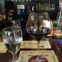 $6 red wine for happy hour- Anderra Carmenere-…