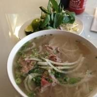 """Pho Tai. Size """"medium"""", but is huge. Delicious."""