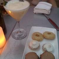 Dessert Platter of cookies and Limoncello
