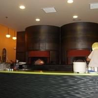 the pizza ovens