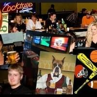 collage of the bar