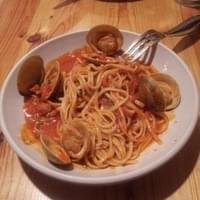 linguine and clam sauce...mmm