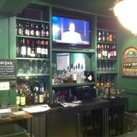 Plasma TV & well stocked bar