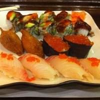 A small sushi selection