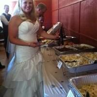 Catering for a wedding. Mus Nicole looking…