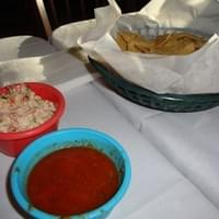 Chips, Salsa and Mexican Coleslaw ~ April 3rd 2010