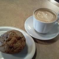 My Latte and Blueberry muffin